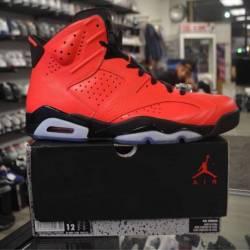 Jordan 6 size 12 infrared pre ...