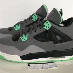 Air jordan 4 retro glow green 4s
