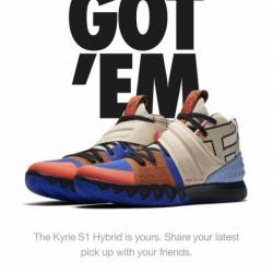What the kyrie s1 hybrids