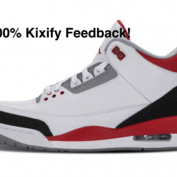 Air jordan 3 fire red