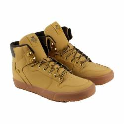 Supra vaider mens tan leather ...