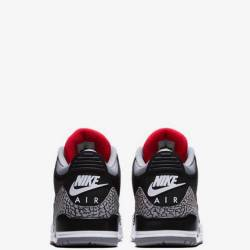Nike air jordan lll black ceme...