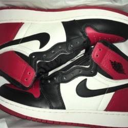 Jordan bred toe 1 size 7y