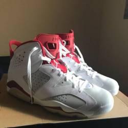 Jordan 6 gym red
