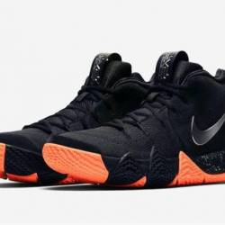 Nike kyrie 4 black metallic si...