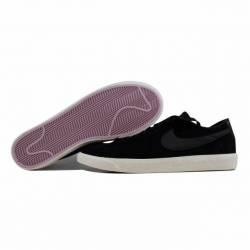7abffb20c09 Nike Blazer Low Black Black-Sail-Iced Lilac 371760-024 Men s SZ 12 ...