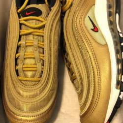 Nike air max 97 metallic gold ...