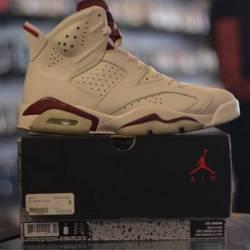 Jordan 6 maroon size 8 pre owned