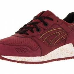 Asics men s gel-lyte iii burgu...