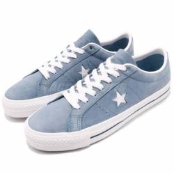 Converse one star pro blue whi...
