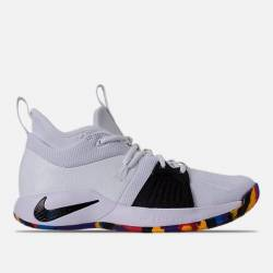 Authentic nike pg 2 white blac...