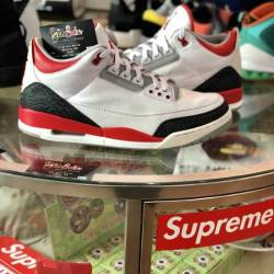Air jordan 3 retro fire red (2...