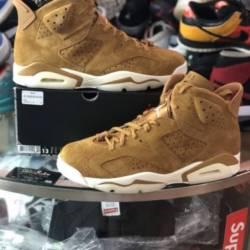 Nike air jordan 6 vi golden ha...