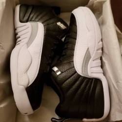 Air jordan 12 low gs playoff
