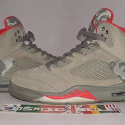 Nike air jordan 5 retro stucco...