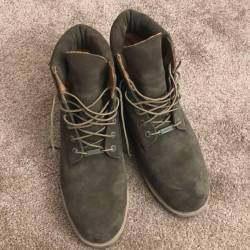 Timberland 6inch forest green
