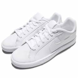 Nike court royale gs triple wh...