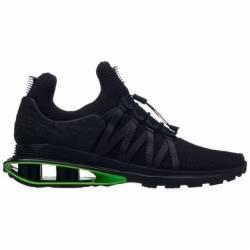 Nike shox gravity black/green ...