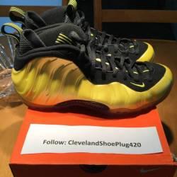 Nike foamposite electrolime