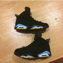 Size 9.5 jordan 6 unc