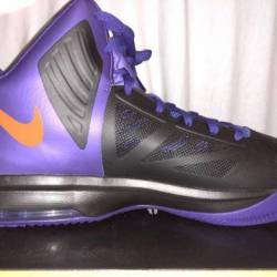 Nike air max high tops black a...