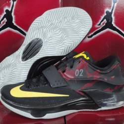Nike kd 7 vii nikeid id black ...