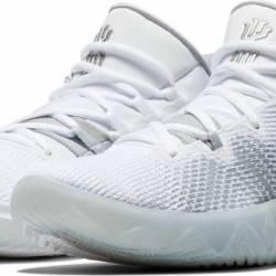 Nike kyrie flytrap white silve...