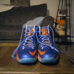 Nike custom lebron 10's