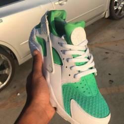 Nike air huarache custom fade ...