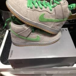 "Nike dunk high premium sb ""sil..."