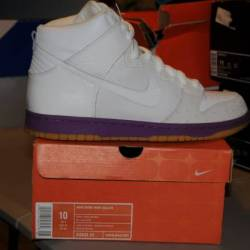 Nike dunk high deluxe- ostrich...