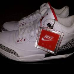 Nike air jordan 3 88 white cem...