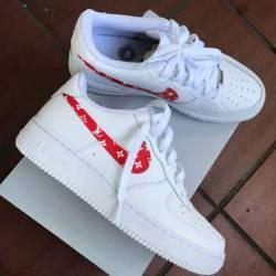 Nike air force 1 custom louis ...