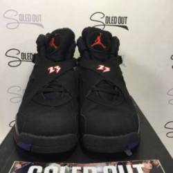 "Air jordan 8 retro (gs) ""pla..."