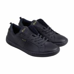 Huf boyd mens blue leather lac...