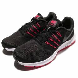 Wmns nike run swift black red ...