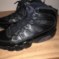Jordan 9 black