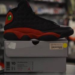 Jordan 13 pre owned bred men's