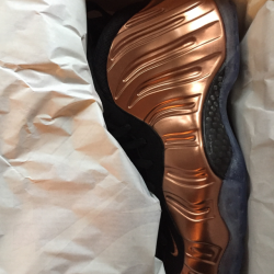Copper foamposites