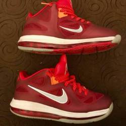 "Nike lebron 9 low ""team red/..."