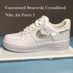 Customised crystallised nike a...