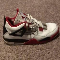 Jordan 4 retro fire red