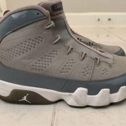 Retro jordan cool grey 9's s...