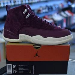 Jordan 12 bordeux