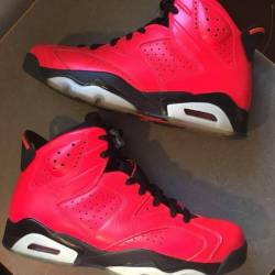 Nike air jordan 6 infrared 23 ...