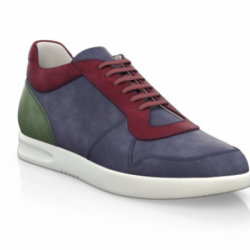 100% italian suede and leather...