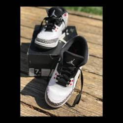 Air jordan 3 - white black