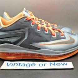 Nike lebron xi 11 low lava gs ...