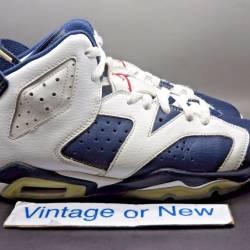 Nike air jordan vi 6 olympic r...