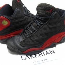 Used og 1998 air jordan 13 bre...